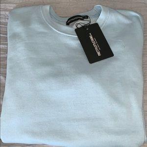 💧 NWT blue oversized sweatshirt